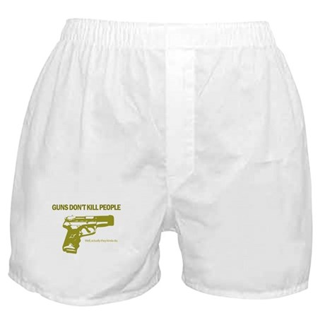 Guns Don't Kill People Boxer Shorts