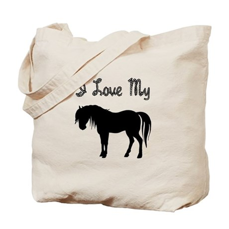 Love My Pony Tote Bag