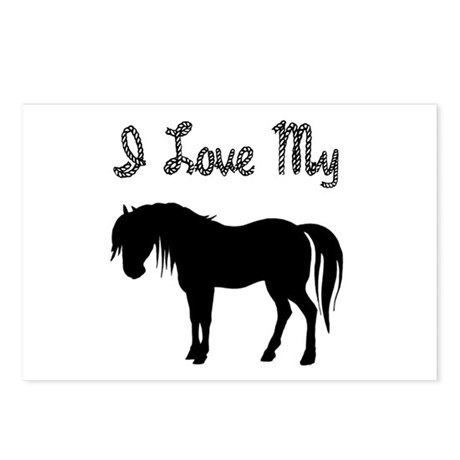 Love My Pony Postcards (Package of 8)