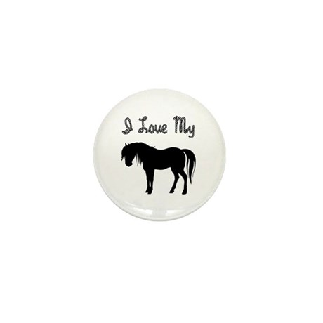 Love My Pony Mini Button (100 pack)