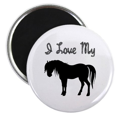 "Love My Pony 2.25"" Magnet (100 pack)"