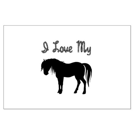 Love My Pony Large Poster