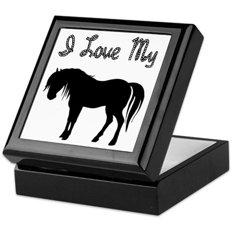 Love My Pony Keepsake Box