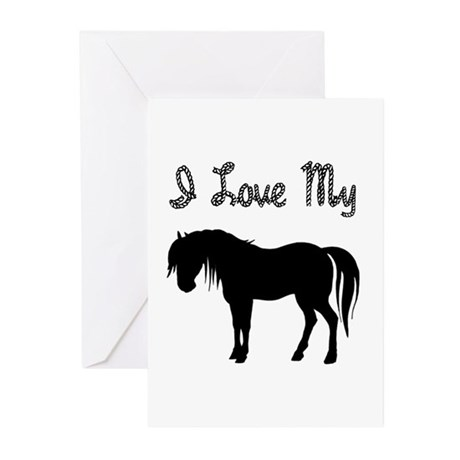 Love My Pony Greeting Cards (Pk of 20)
