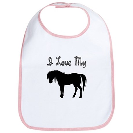 Love My Pony Bib
