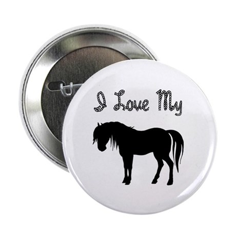 "Love My Pony 2.25"" Button (100 pack)"