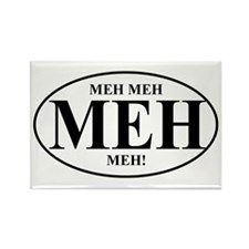 MEH Meh Rectangle Magnet (100 pack)