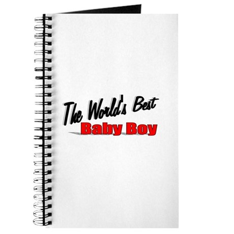 &quot;The World's Best Baby Boy&quot; Journal