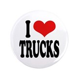"I Love Trucks 3.5"" Button (100 pack)"