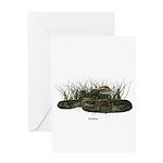 Snake (Python) Greeting Card