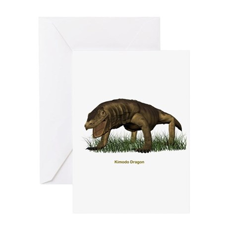Kimodo Dragon Greeting Card