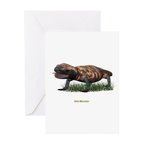 Gila Monster Greeting Card