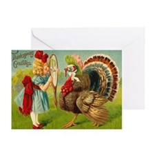 Turkey in the Mirror Greeting Cards (Pk of 20)