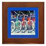 Bicycle Framed Tile