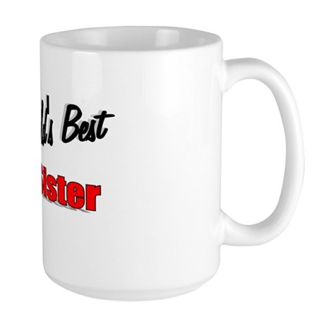 """The World's Best Big Sister"" Large Mug"