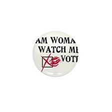 Watch Me Vote! Mini Button