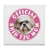 Shih Tzu Mom -  Tile Coaster