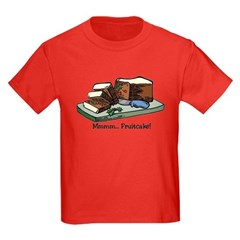 Mmmm Fruitcake Kids Dark T-Shirt