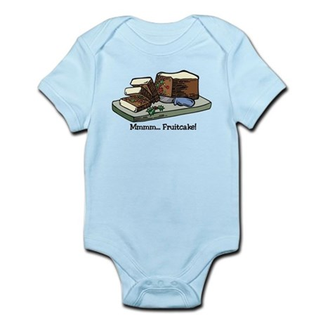 Mmmm Fruitcake Infant Bodysuit