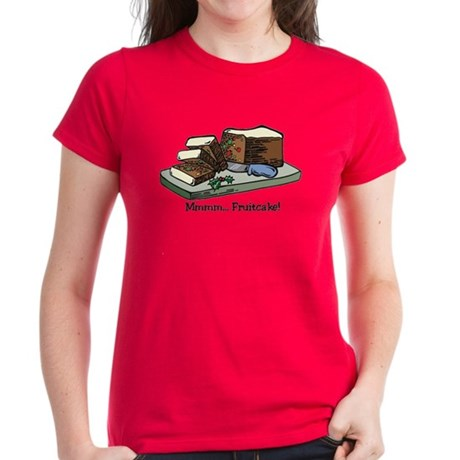 Mmmm Fruitcake Women's Dark T-Shirt