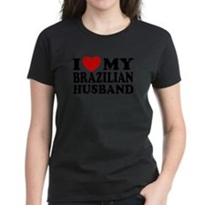 I Love My Brazilian Husband Tee