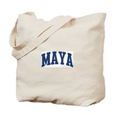 MAYA design (blue) Tote Bag
