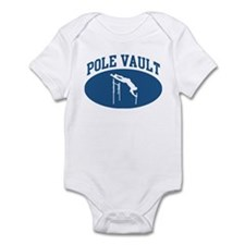 Pole Vault (blue circle) Infant Bodysuit