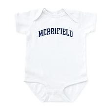 MERRIFIELD design (blue) Infant Bodysuit