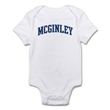 MCGINLEY design (blue) Infant Bodysuit