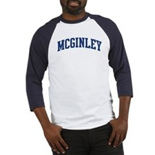 MCGINLEY design (blue) Baseball Jersey