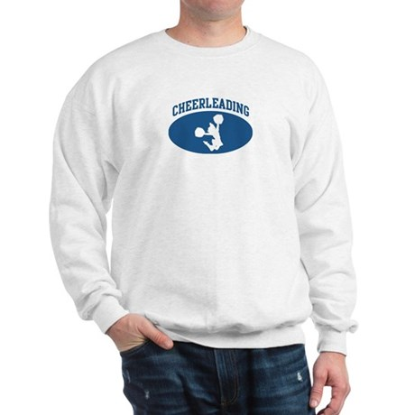 Cheerleading (blue circle) Sweatshirt