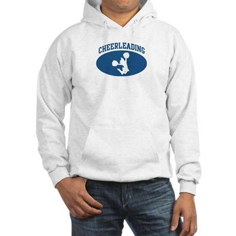 Cheerleading (blue circle) Hooded Sweatshirt
