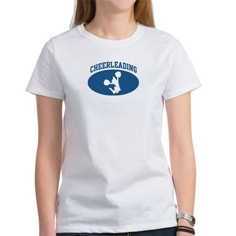 Cheerleading (blue circle) Women's T-Shirt