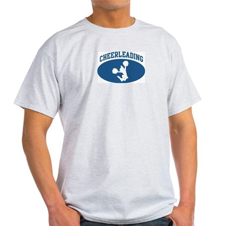 Cheerleading (blue circle) Light T-Shirt