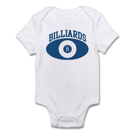 Billiards (blue circle) Infant Bodysuit
