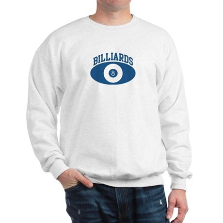 Billiards (blue circle) Sweatshirt