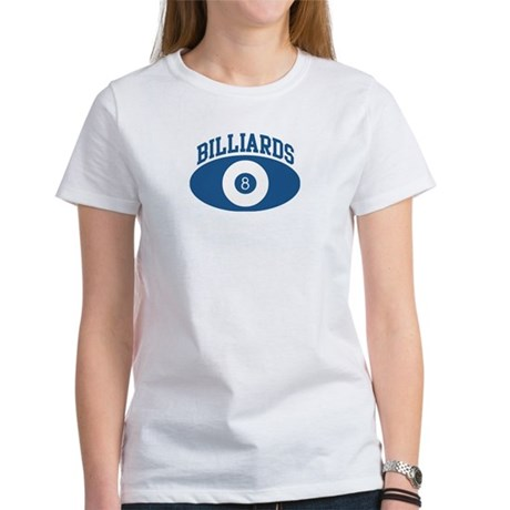 Billiards (blue circle) Women's T-Shirt