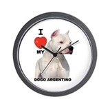 Cute Www.legenddogos.com Wall Clock