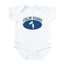 Color Guard (blue circle) Infant Bodysuit
