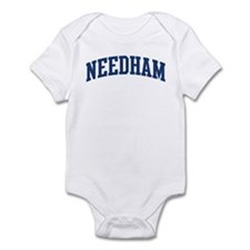 NEEDHAM design (blue) Infant Bodysuit