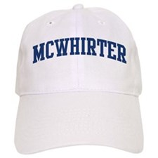 MCWHIRTER design (blue) Baseball Cap