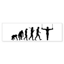 Rings Gymnast Bumper Sticker