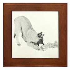 Terv Pup Framed Tile