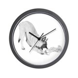 Terv Pup Wall Clock