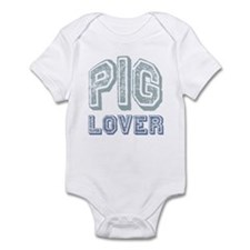 Pig Lover Piglet Farm Animal Infant Bodysuit