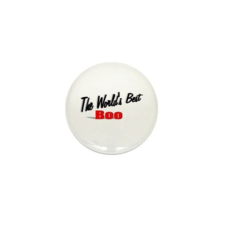 """The World's Best Boo"" Mini Button"