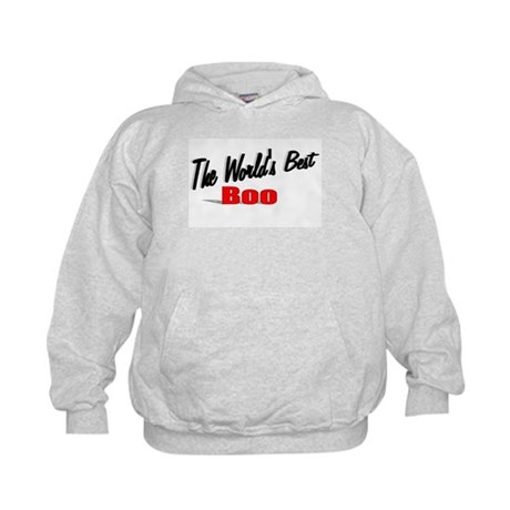"""The World's Best Boo"" Kids Hoodie"
