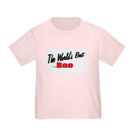 """The World's Best Boo"" Toddler T-Shirt"