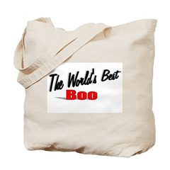 """The World's Best Boo"" Tote Bag"