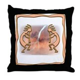 Kokopelli No.11 Throw Pillow